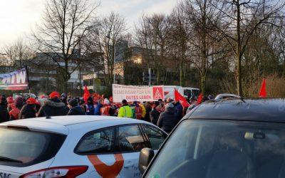 Resolution: Solidarität mit den Kolleg*innen der IG Metall