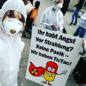 Aktion gegen Atomkraft