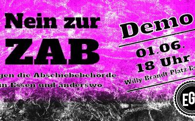 LINKE gegen geplante Zentrale Ausländerbehörde Essen – Bündnis ruft zur Demonstration am 01. Juni auf