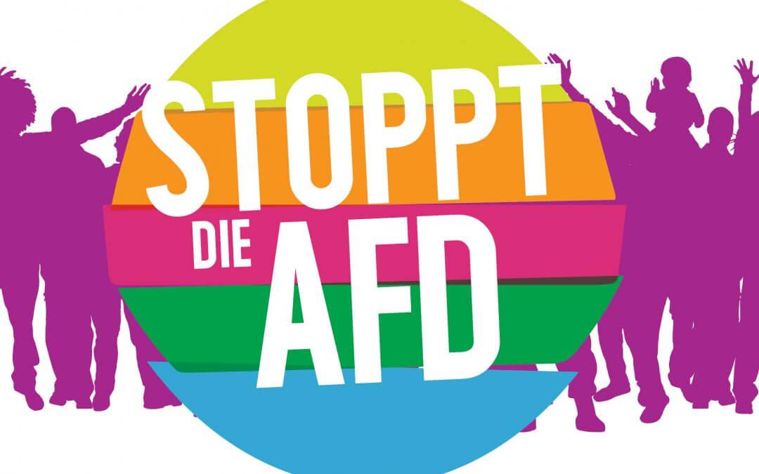 Die AfD ist keine Partei wie jede andere – jetzt gegen Rassismus aktiv werden