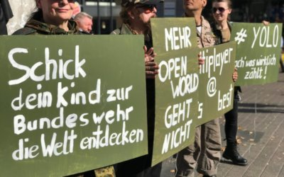 No Natom-Krieg: Kriegsrat hat in Essen nichts zu suchen