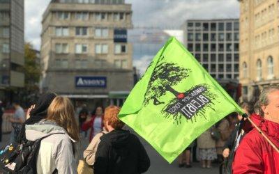 Die Linke besorgt wegen Ingewahrsamnahme von Klimaaktivistinnen