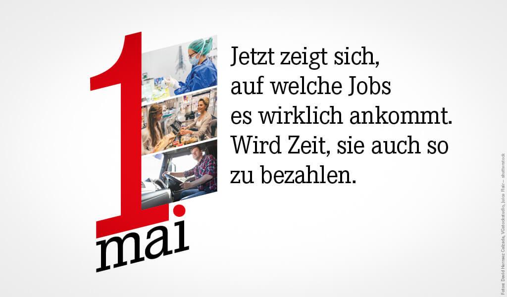 """#1Mai – """"Solidarisch ist man nicht allein"""""""