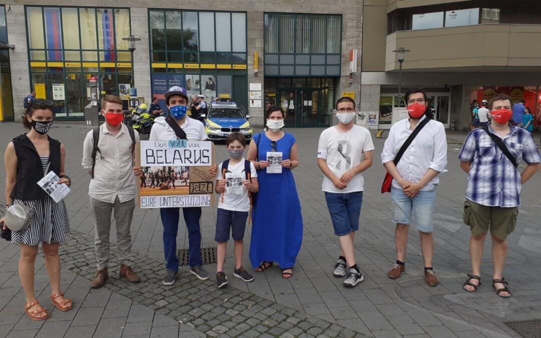 Schluss mit der Gewalt in Belarus