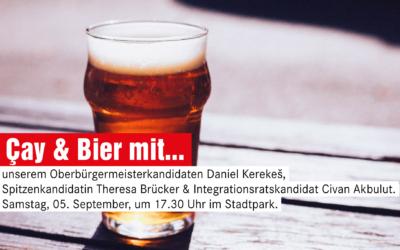 Auf ein Bier & Çay mit Daniel, Theresa & Çivan