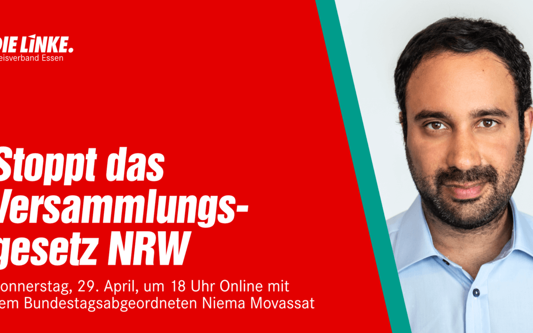Stoppt das Versammlungsgesetz NRW!
