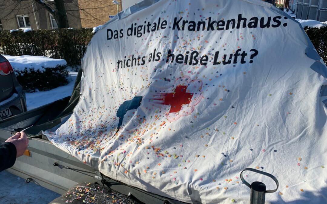 Grüne ohne Rückgrat: Linke unterstützt weiterhin den KrankenhausEntscheid